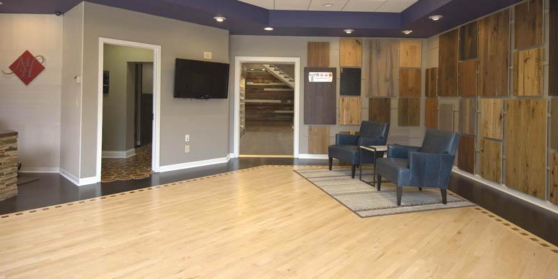 Cincinnati Hardwood Flooring Showroom Mansion Hill Custom Floors