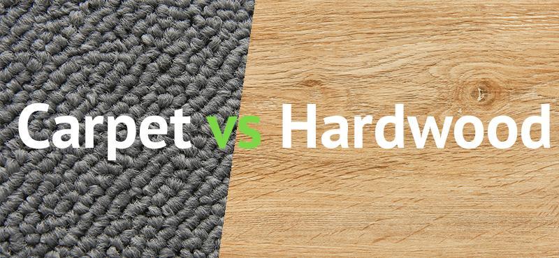 Hardwood Floors Vs Carpeting Which Is, Laminate Flooring Vs Carpet