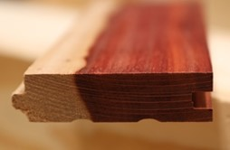 Example of solid wood flooring.